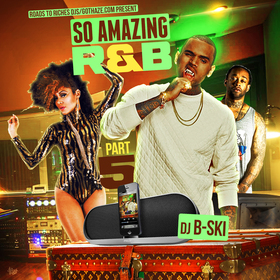 So Amazing R&b 5 DJ B-Ski front cover