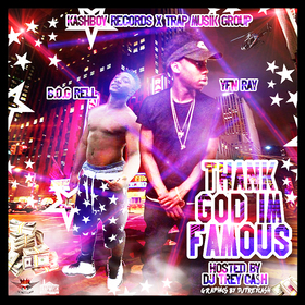 Thank God Im Famous Dj Trey Cash front cover