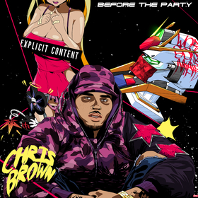 Before The Party Chris Brown front cover
