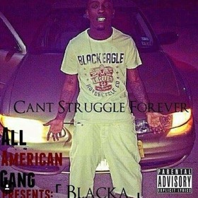 Can't Struggle Forever BangBangBlacka front cover