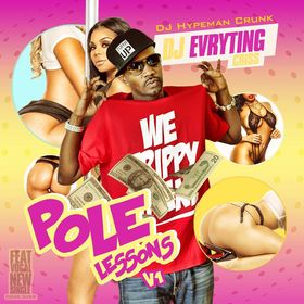 Pole Lessons Vol. 1 DJ Evryting Criss front cover