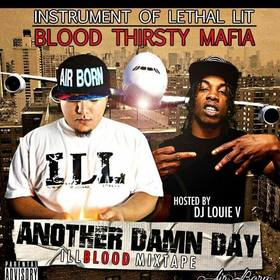 DJ Louie V - Another Dam Day LBPimpin front cover