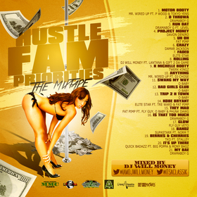 Hustle Fam Priorities DJ Will Money front cover