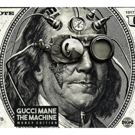The Machine (Money Edition) Gucci Mane front cover