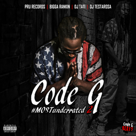 #MOSTunderrated 2 Code G front cover