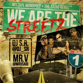 We Are The Streetz DJ S.R. front cover