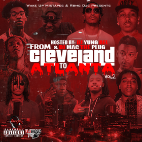 From Cleveland To Atlanta Vol. 2 DJ Mac  front cover