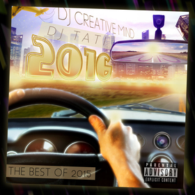 Best Of 2015 Playlist Dj Creative Mind front cover