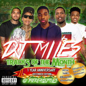 Tracks of the Month (1 Year Anniversary | December Edition) DJ Miles front cover