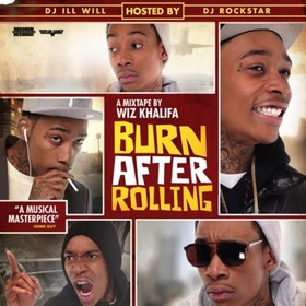 Burn After Rolling Wiz Khalifa front cover