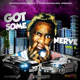 DJ Johnny O & DJ Skroog Mkduk -  Got Some Nerve Vol. 2 Skroog Mkduk front cover