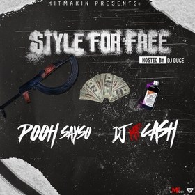 Style For Free DJ MF Cash front cover