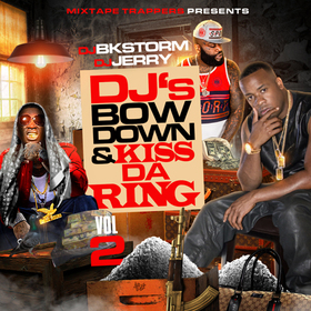 DJ's Bow Down & Kiss Da Ring Vol.2 Various Artists front cover