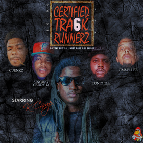 Certified Track Runnerz 6 Dj Tony Pot front cover