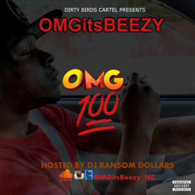 #OMG100 OMGitsBeezy front cover