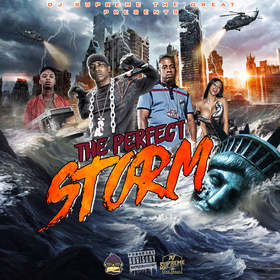 #ThePerfectStorm DJ Supreme The Great front cover