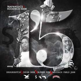 1'5 Trap-A-Holics front cover