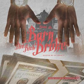 Born Broke Die Rich Young illA front cover