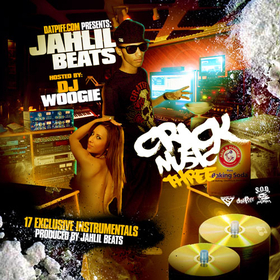 Crack Music 3 Jahlil Beats front cover