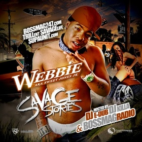 Savage Stories Webbie front cover