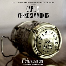 Champagne Poets Cap 1 front cover