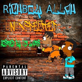 UnExspected Official Richboy Allah  front cover