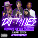 Tracks of the Month (January Edition) (2016) DJ Miles front cover