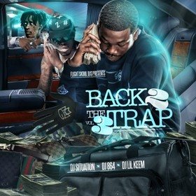 Back 2 The Trap 3 DJ Lil Keem front cover