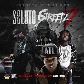 Salute The Streets 7 GambinoATL front cover