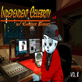 INDEPENDENT CELEBRITY Vol. 8 DJ Khasper Bhinks front cover