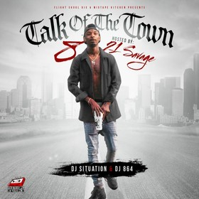 Talk Of The Town 8 (Hosted By 21 Savage) DJ 864 front cover