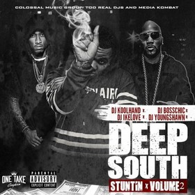DEEP SOUTH STUNTIN 2 Colossal Music Group front cover