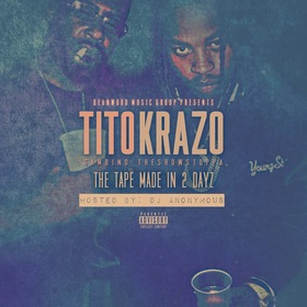 The Tape Made in 2 Dayz Krazo front cover
