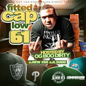 Fitted Cap Low 61 (Hosted By OG Boo Dirty) Dj New Era front cover