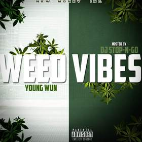 Weed Vibes Young Wun  front cover