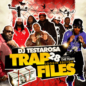 Trap Files 28 DJ Testarosa front cover
