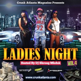 Crunk Atlanta Magazine - Ladies Night 4 Skroog Mkduk front cover