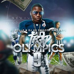 Trap Olympics 9 DJmellz1017 front cover