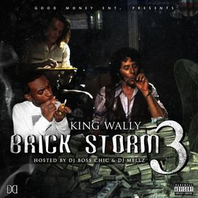 Brick Storm 3 King Wally front cover