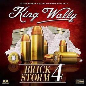 Brick Storm 4 King Wally front cover