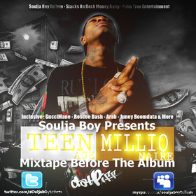Teenage Millionaire Soulja Boy front cover