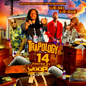 Trapology 14 DJ B-Ski front cover