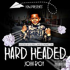 A1JohnBoii - Hard Headed Dj MoneyTay front cover