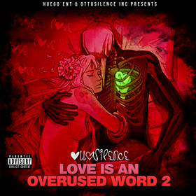 Otto Silence - Love Is An Overused Word 2 DJ ASAP front cover
