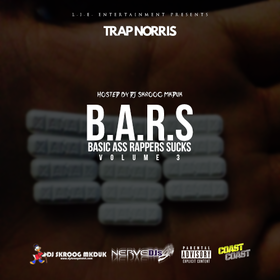 B.A.R.S. Vol. 3 Trap Norris front cover