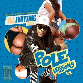 Pole Lessons Vol. 2 DJ Evryting Criss front cover