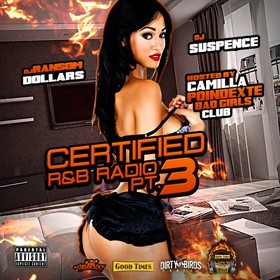 Certified R&B Radio 3 (Hosted By Camilla Poindexter) DJ Suspence front cover