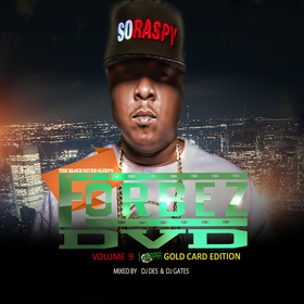 Forbezdvd 9 Gold Card Edition Various Artists front cover