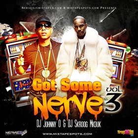Got Some Nerve Vol. 3 Skroog Mkduk front cover
