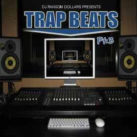 Trap Beats Pt.3 DJ Ransom Dollars front cover
